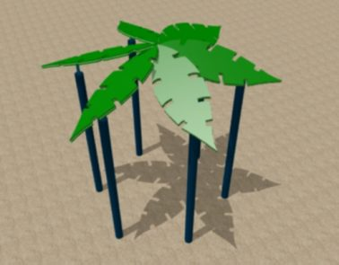 Hex Roof Palm Leaf – HDPE