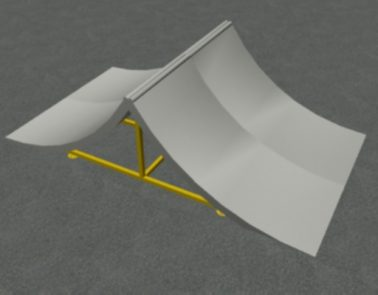 Spine Ramp, 8′ or 16′ Wide